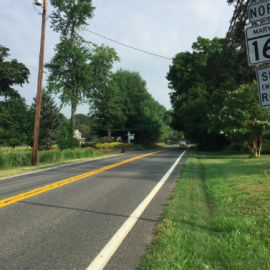 Baldwin, MD - northbound Route 165 through eastern Baltimore County and Harford County